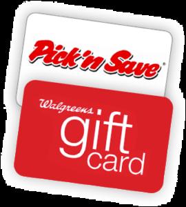 Pick 'N Save or Walgreens Gift Card