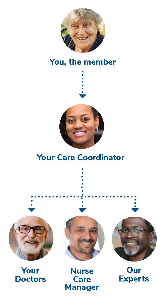 SSI Care Team Diagram